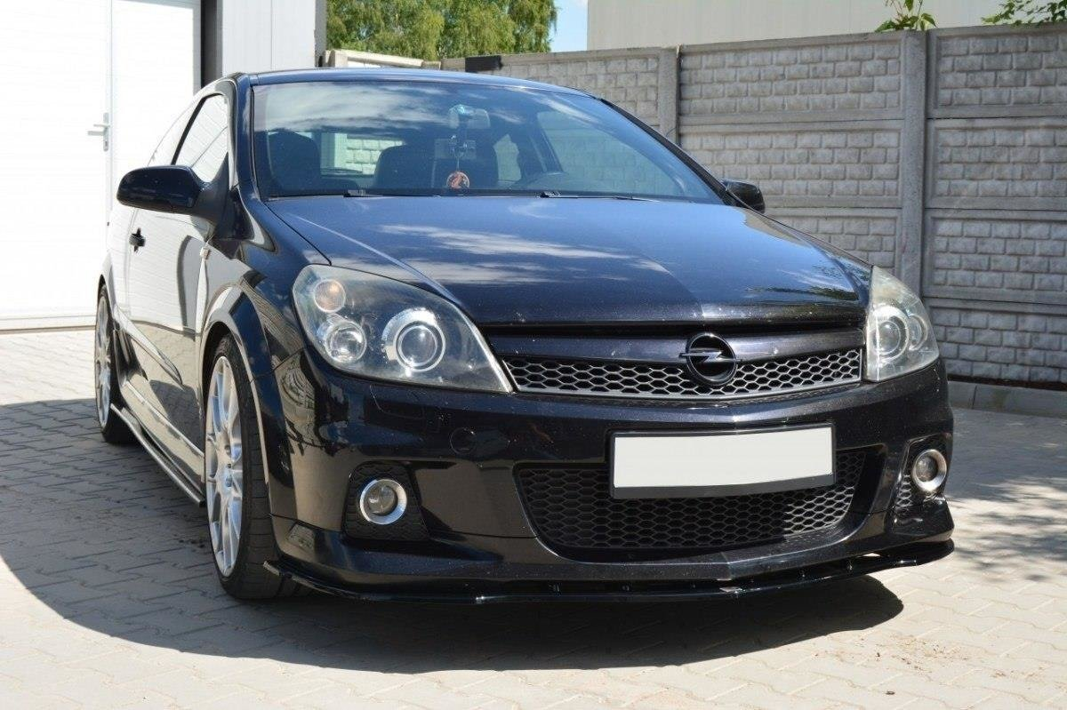 Front Splitter Opel Astra H For Opc Vxr Gloss Black Our Offer Opel Astra Opc H Mk3 Maxton Design