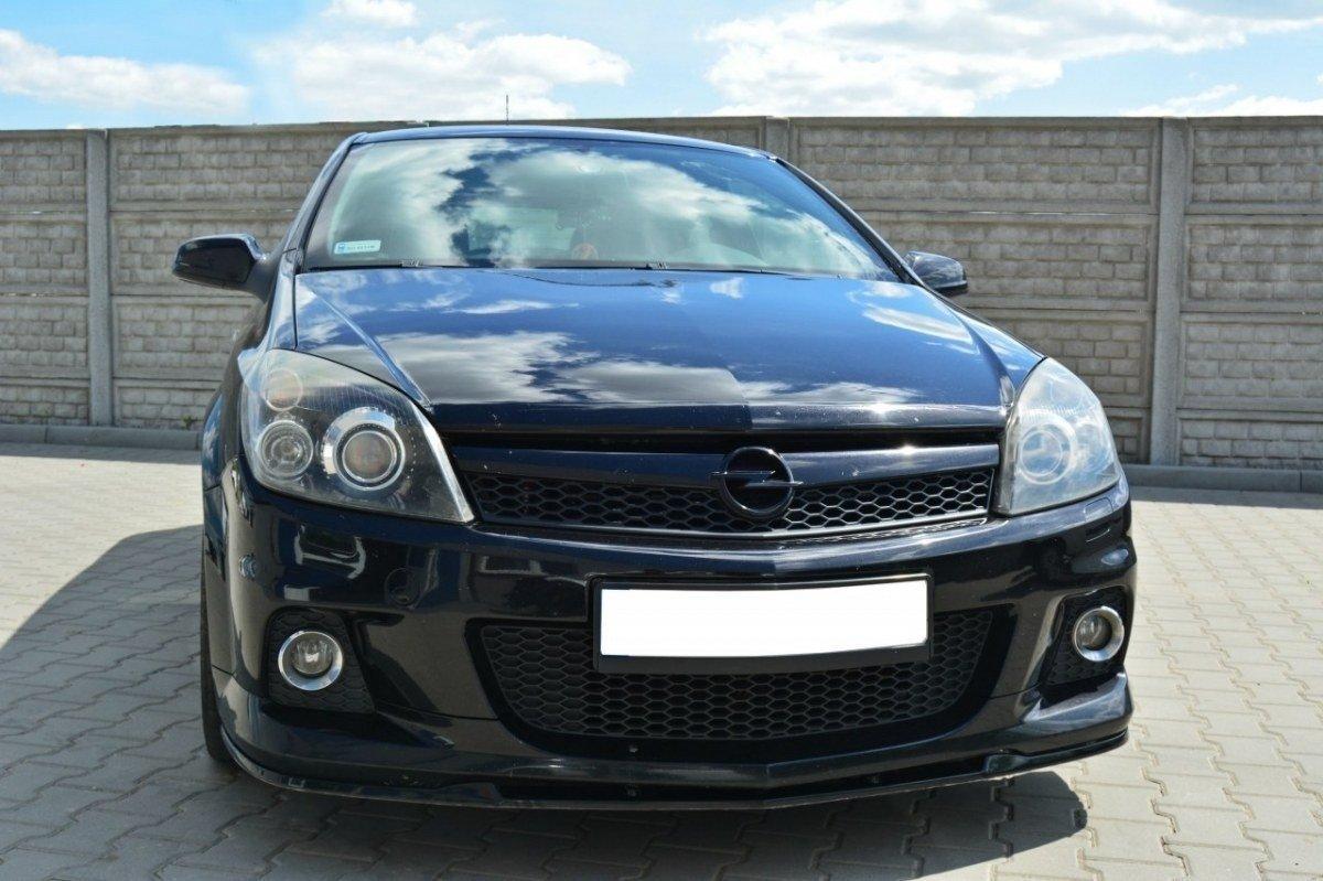 Front Splitter Opel Astra H Opc Vxr Nurburg Gloss Black Our Offer Opel Astra Opc H Mk3 Maxton Design