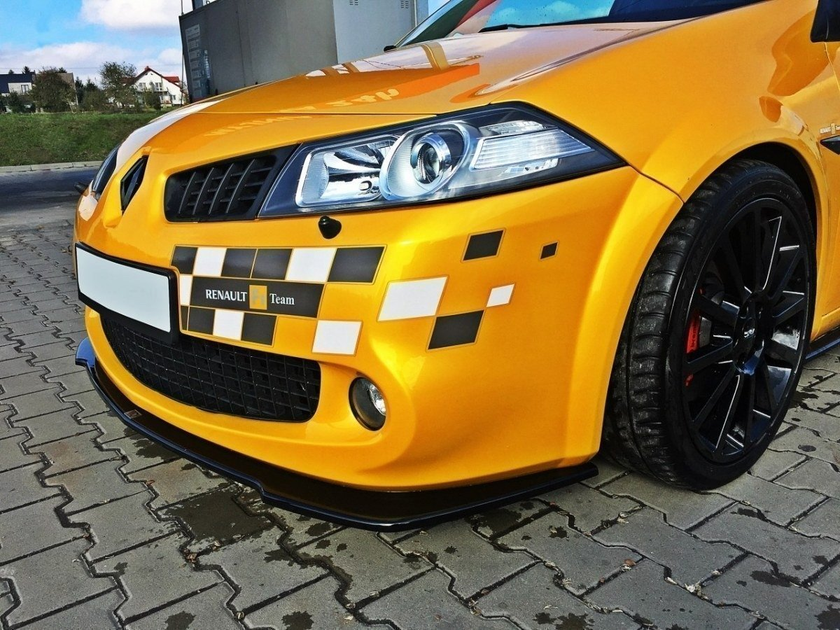 Front Splitter Renault Megane Ii Rs Facelift Gloss Black Our Offer Renault Megane Rs Mk2 Maxton Design