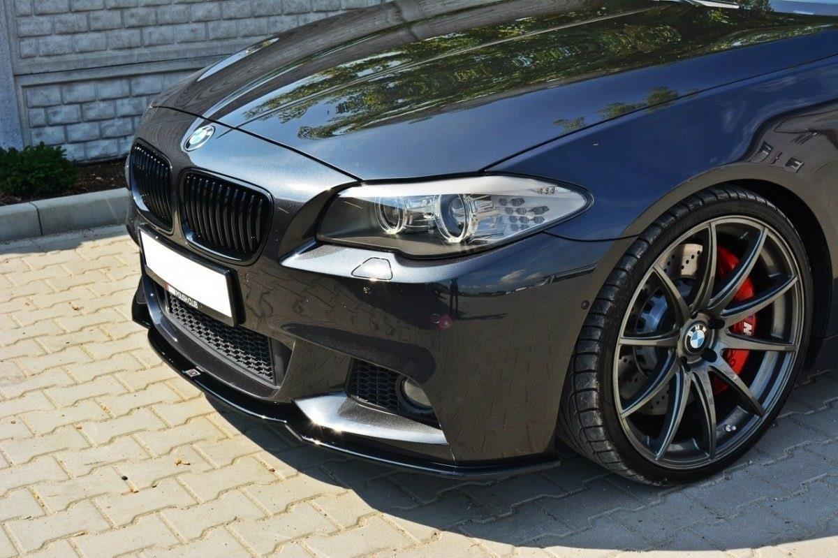 Front Splitter V 2 Bmw 5 F10 F11 Mpack Gloss Black Our Offer Bmw Seria 5 F10 F11 Maxton Design