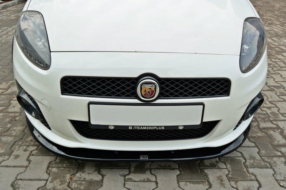 Front Splitter V 2 Fiat Grande Punto Abarth Textured Our Offer Fiat Grande Punto Grande Punto Abarth Maxton Design