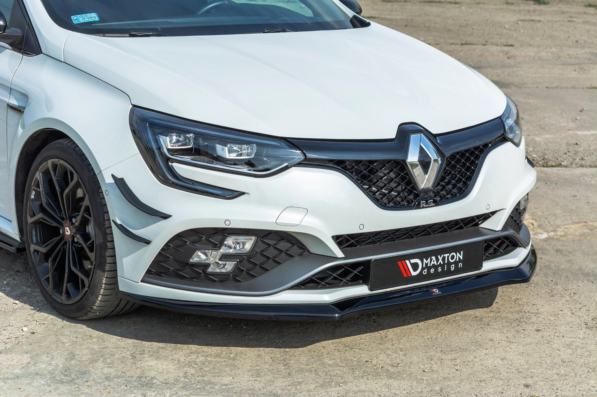 Front Splitter V 2 Renault Megane Iv Rs Our Offer Renault Megane Rs Mk4 Maxton Design