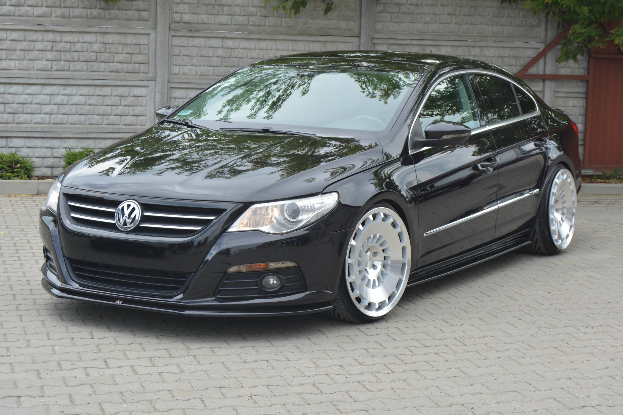 Front Splitter V 2 Vw Passat Cc Standard Textured Our Offer Volkswagen Cc Maxton Design