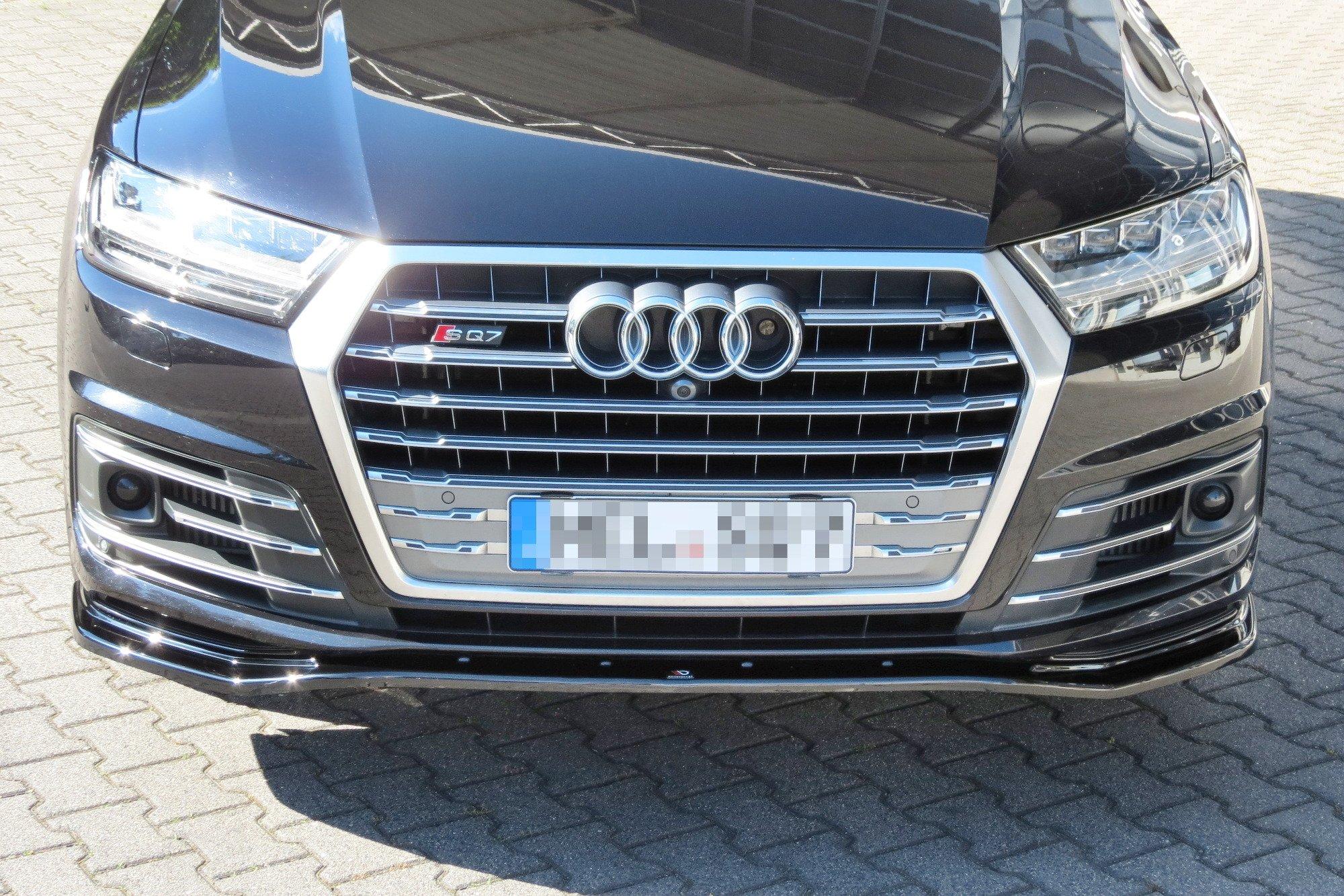 Front Splitter Audi Sq7 Q7 S Line Mk