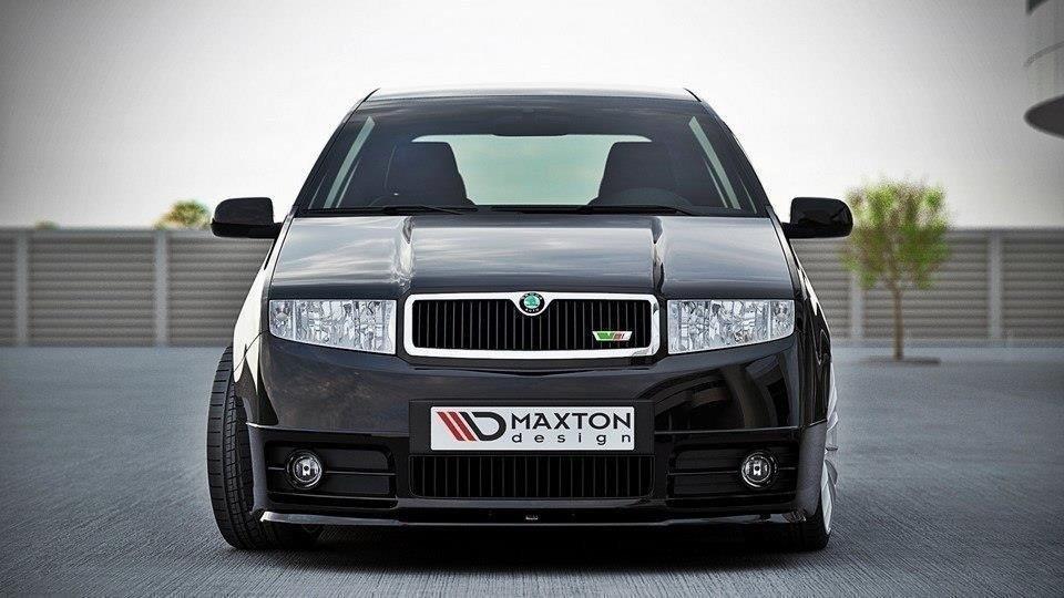 Front Splitter Skoda Fabia RS Mk1 Gloss Black | Our Offer ...