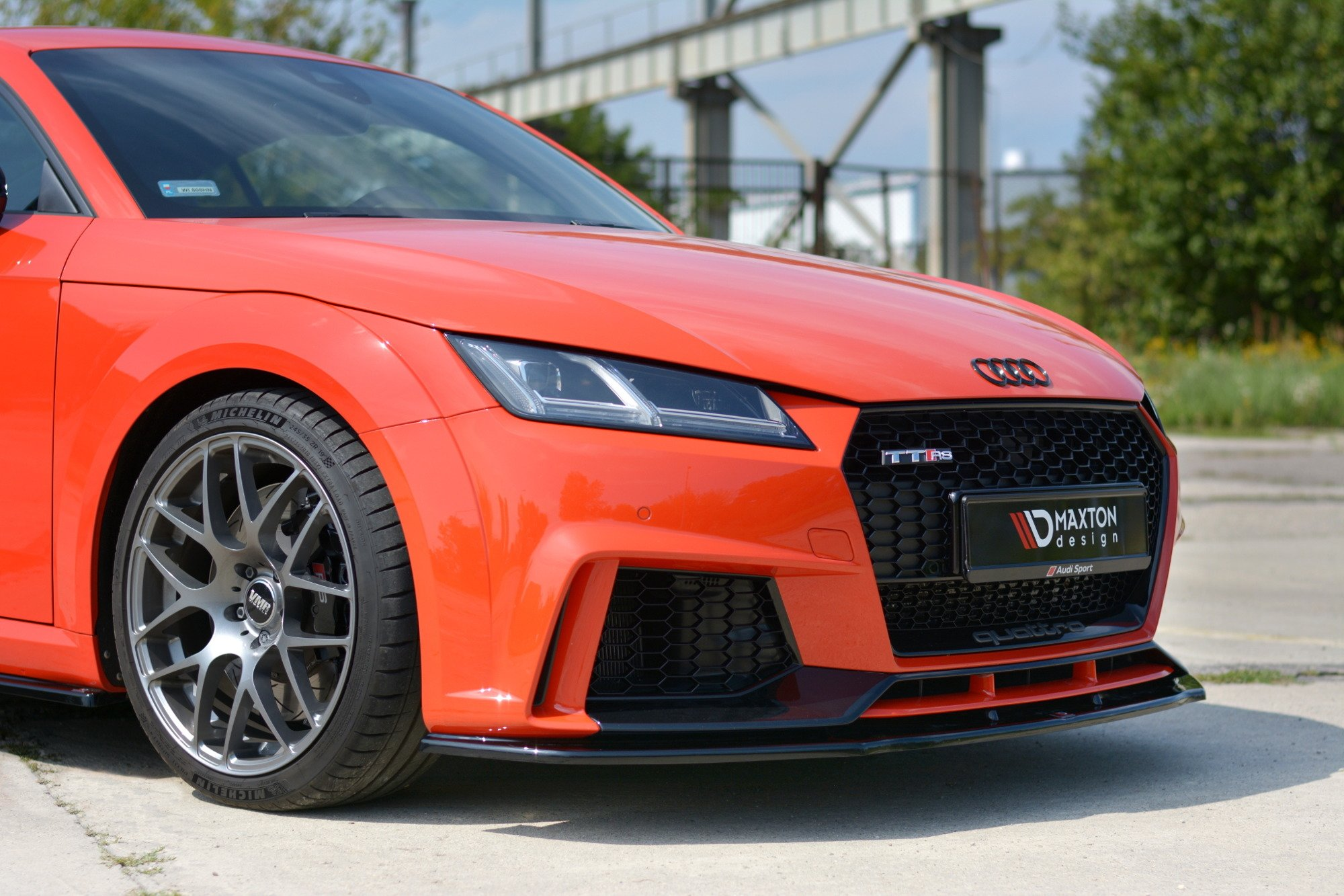 Front Splitter V.1 Audi TT RS 8S | Our Offer \ Audi \ TT ...