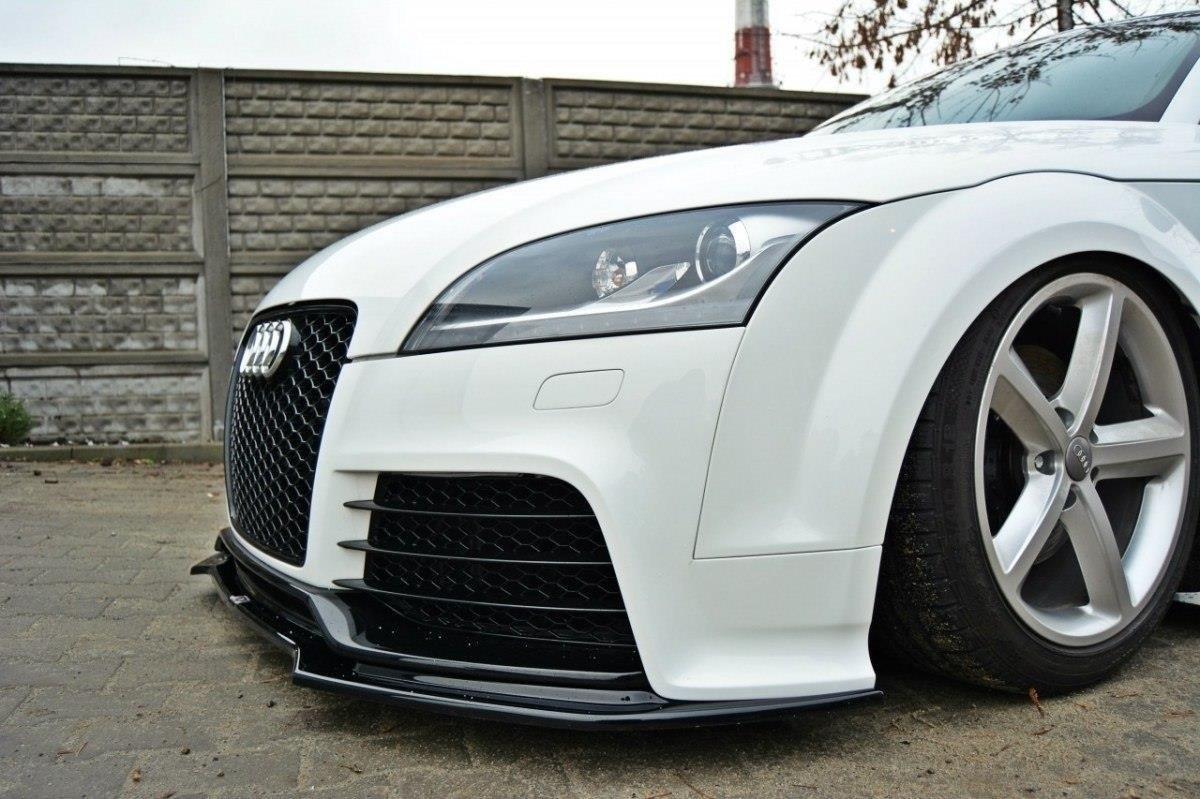 Front Splitter V.2 Audi TT RS 8J Gloss Black | Our Offer ...