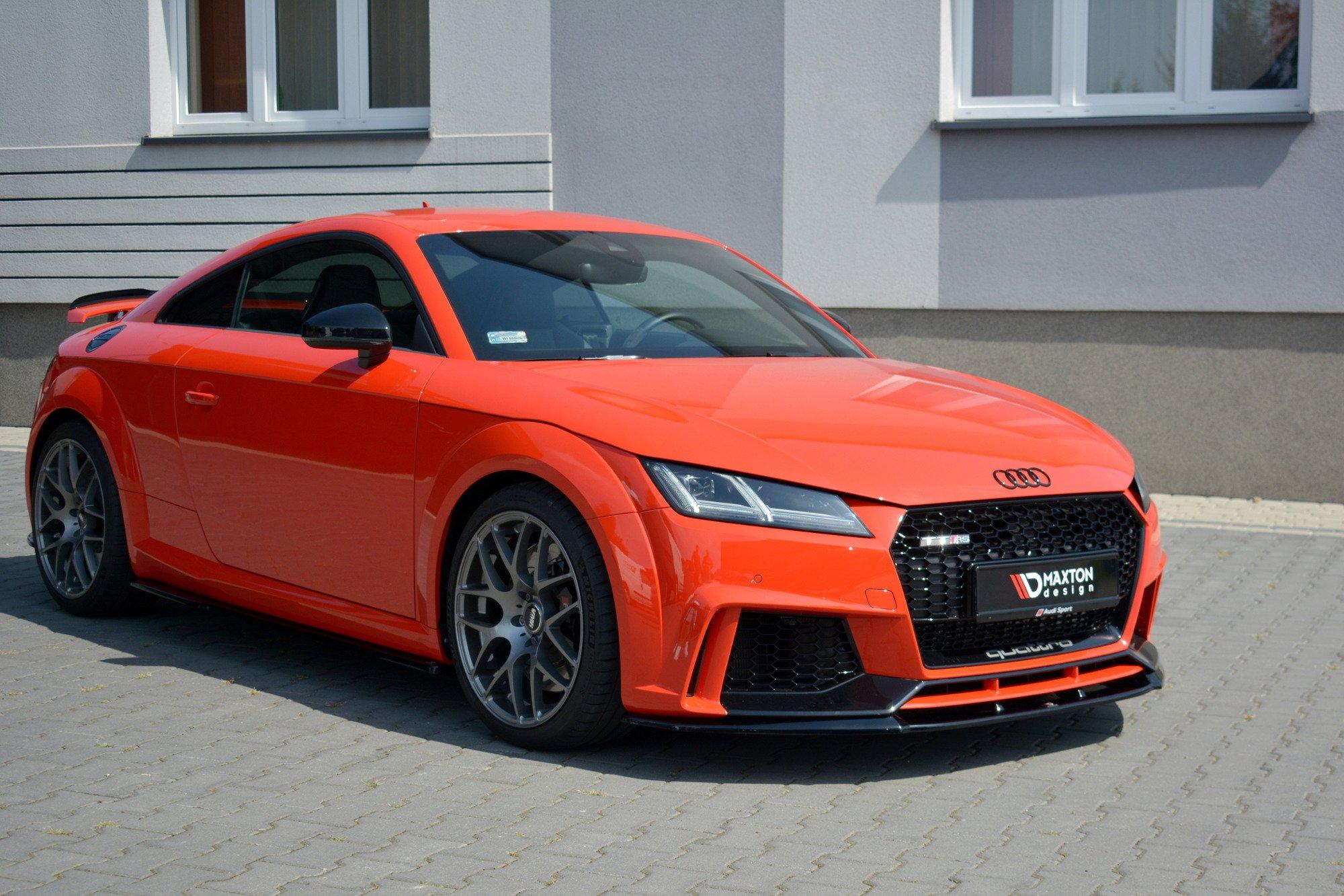 Front Splitter V.2 Audi TT RS 8S | Our Offer \ Audi \ TT ...