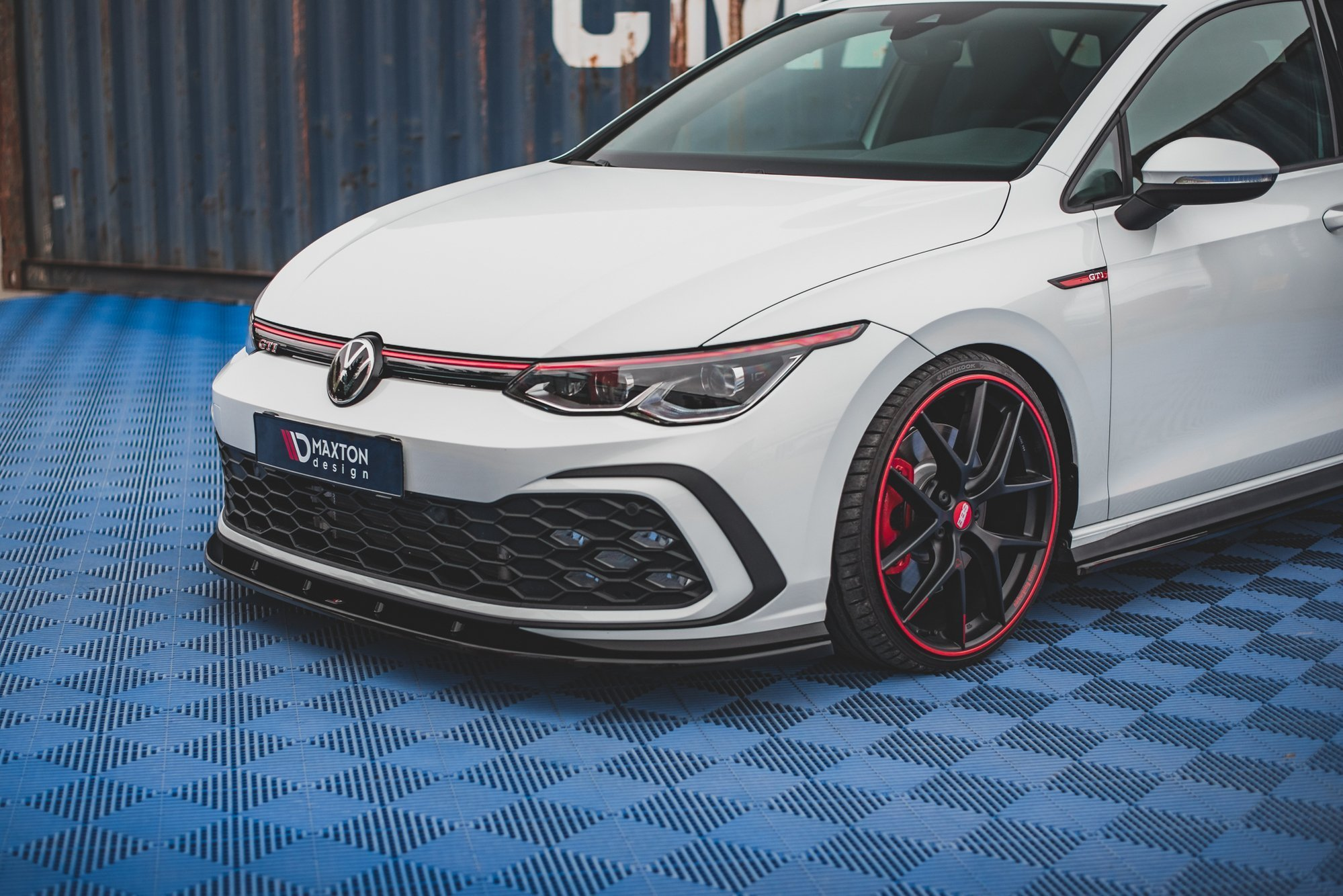 Front Splitter Volkswagen Golf 8 Gti Our Offer Volkswagen Golf Gti Mk8 Maxton Design