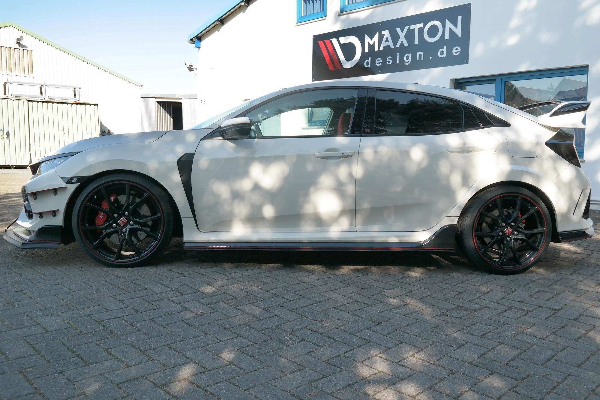 Racing Side Skirts Diffusers Honda Civic X Type R Our Offer Honda Civic Mk10 Type S R Maxton Design