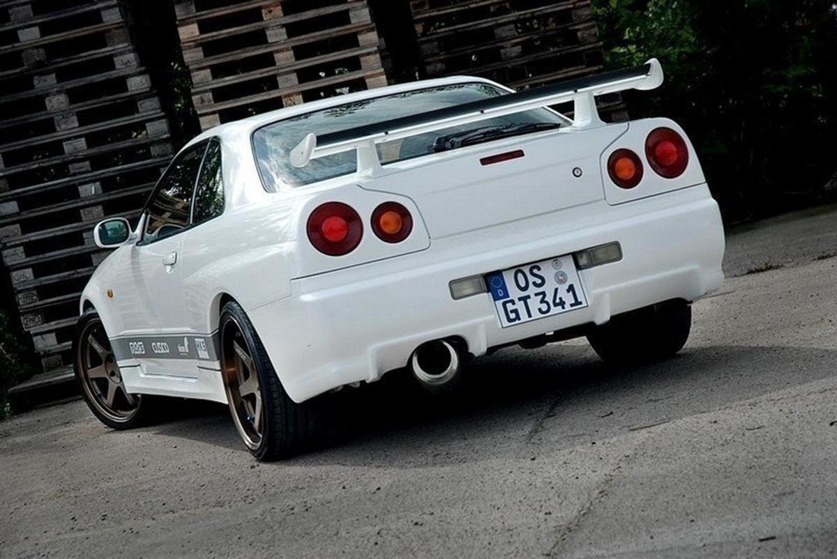 Rear Lights Covers Nissan Skyline R34 Gtr Gtr Look Not Primed Our Offer Nissan Skyline R34 Gtt Maxton Design