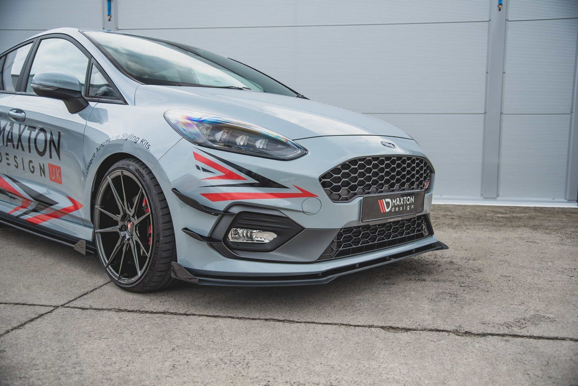 Racing Durability Front Splitter Flaps Ford Fiesta Mk8 St St Line Our Offer Ford Fiesta St Mk8 2018 Our Offer Ford Fiesta St Line Mk8 2017 Maxton Design