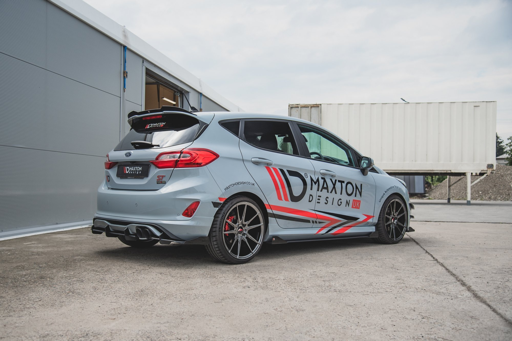 Racing Durability Side Skirts Diffusers Flaps Ford Fiesta Mk8 St St Line Our Offer Ford Fiesta St Mk8 2018 Our Offer Ford Fiesta St Line Mk8 2017 Maxton Design