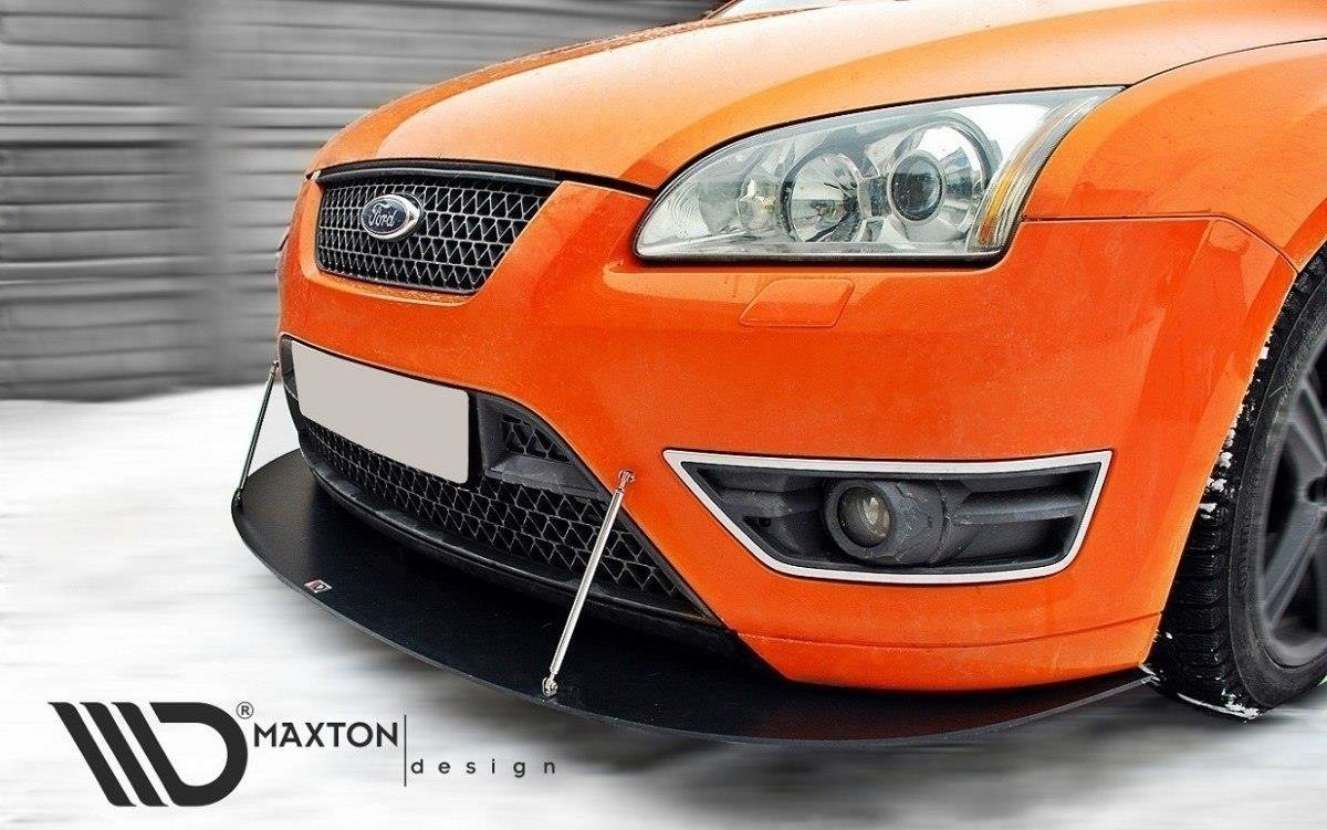 Racing Front Splitter Ford Focus St Mk2 Our Offer Ford Focus St Mk2 2005 2007 Maxton Design