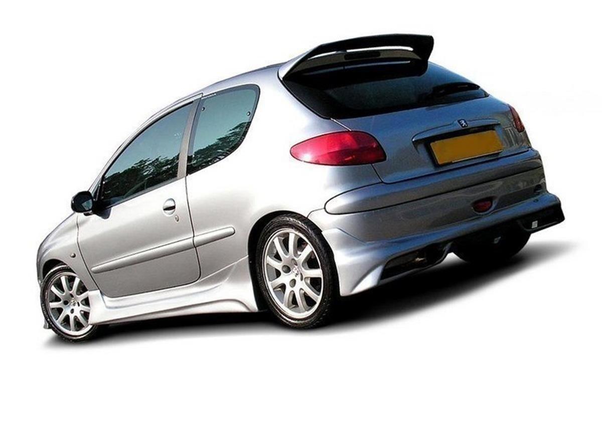 Rear Bumper Extension Peugeot 206 Hatchback Gti S16 Cc Our Offer Peugeot 206 Maxton Design