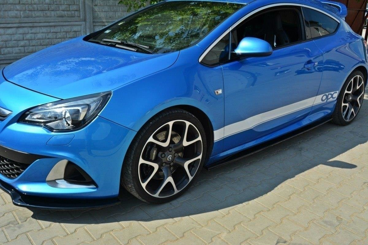 Side Skirts Diffusers Opel Astra J Opc Vxr Textured Our Offer Opel Astra Opc J Mk3 Maxton Design