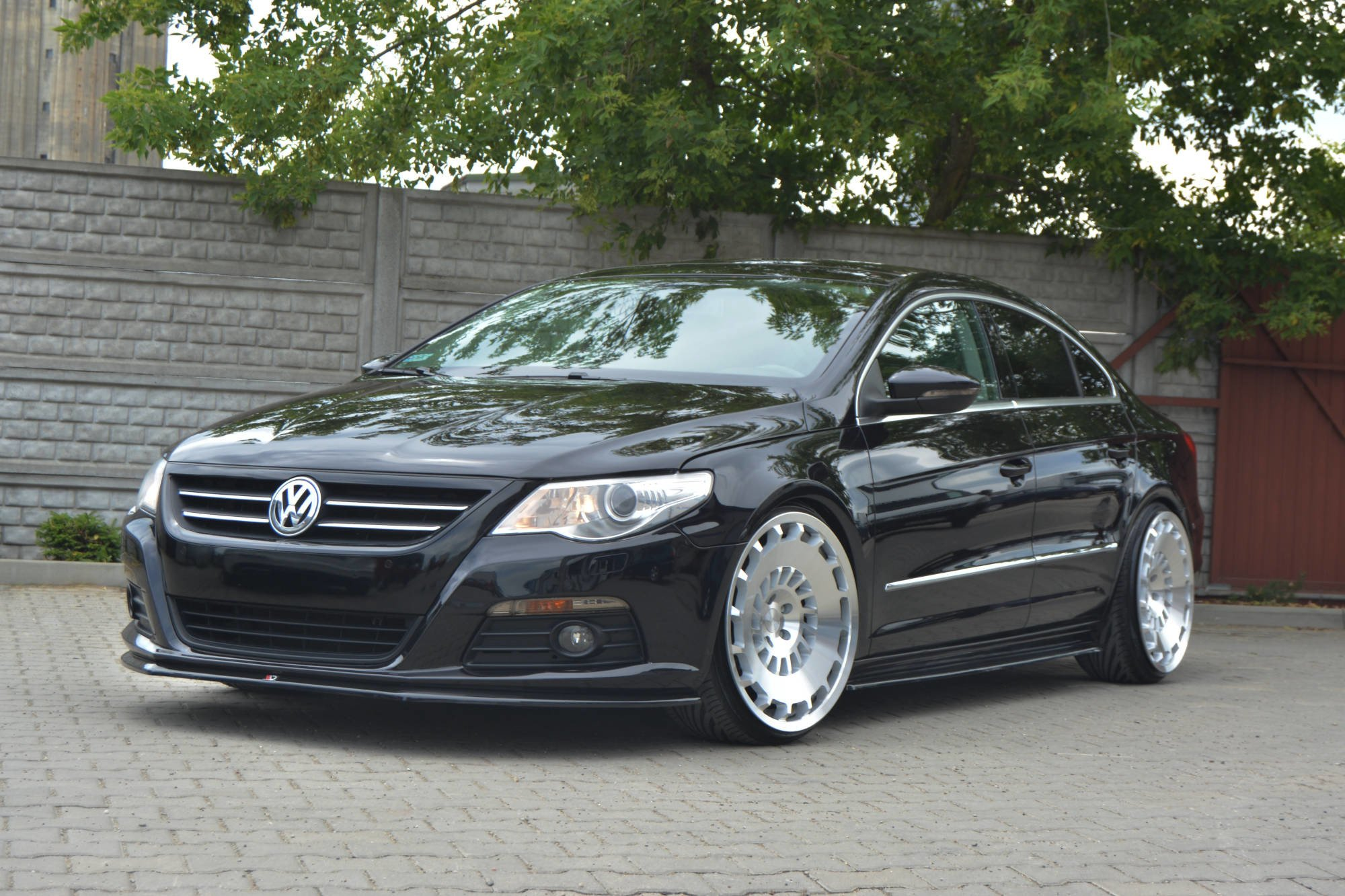 Side Skirts Diffusers Vw Passat Cc Standard Textured Our Offer Volkswagen Cc Maxton Design