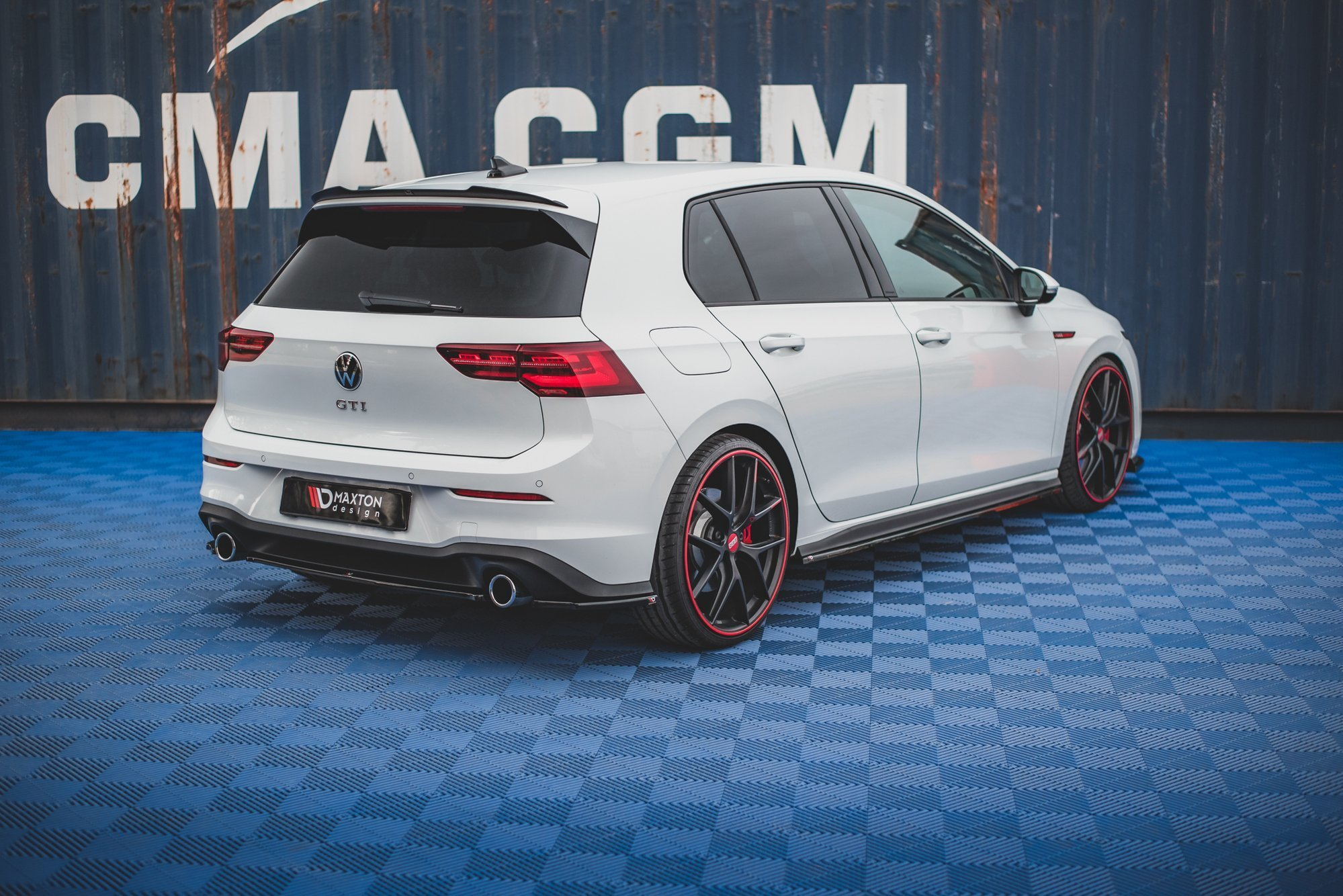 Spoiler Cap Volkswagen Golf 8 Gti Our Offer Volkswagen Golf Gti Mk8 Maxton Design