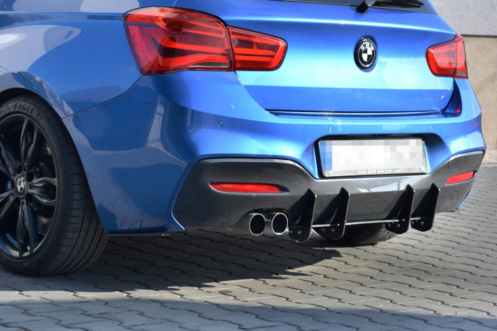 BMW 1 F20/F21 M-POWER FACELIFT - REAR DIFFUSER V.1