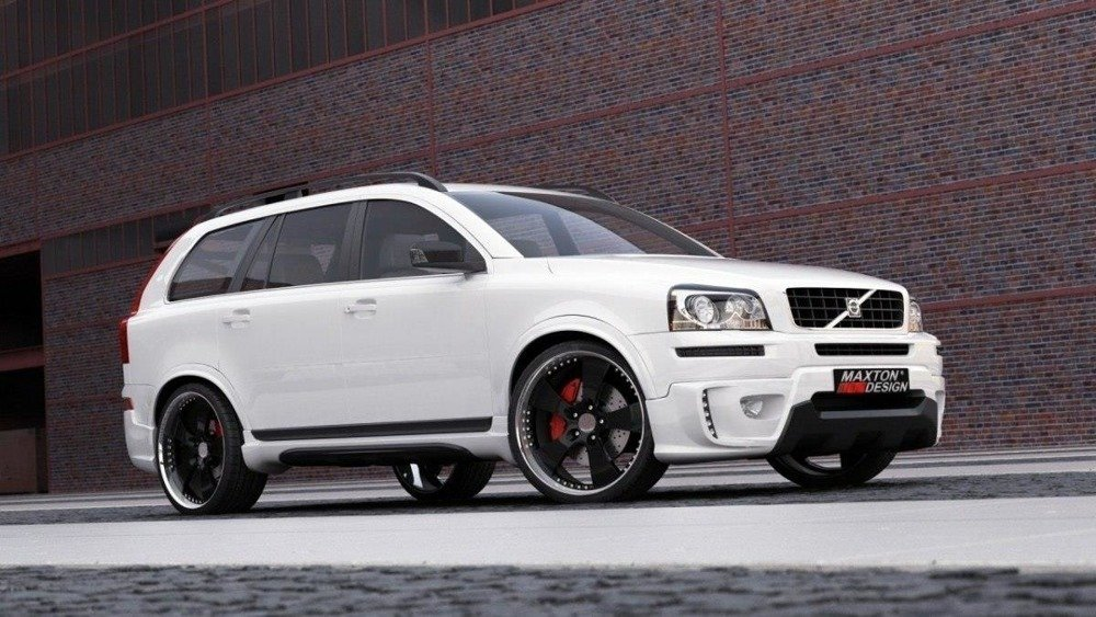 Bodykit Volvo XC 90 (2006-up) without side extensions.