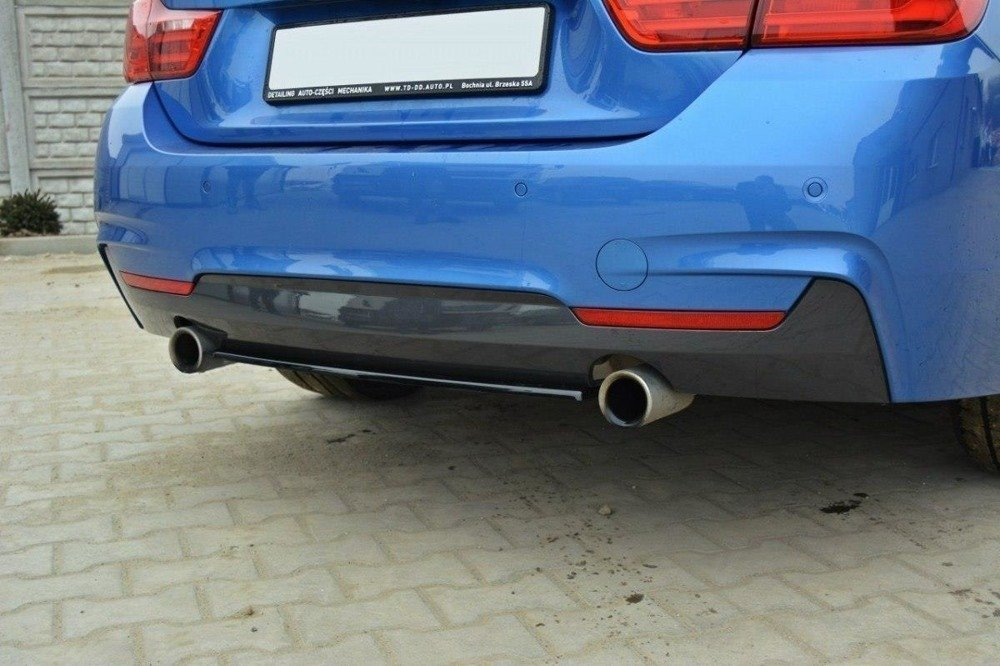 CENTRAL REAR SPLITTER BMW 4 F32 M-PACK (without vertical bars)