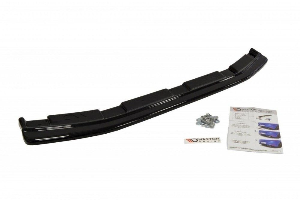 CENTRAL REAR SPLITTER MAZDA 3 MK2 MPS (without vertical bars)