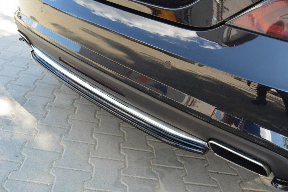 CENTRAL REAR SPLITTER MERCEDES CLS C218 (without a vertical bar) AMG LINE