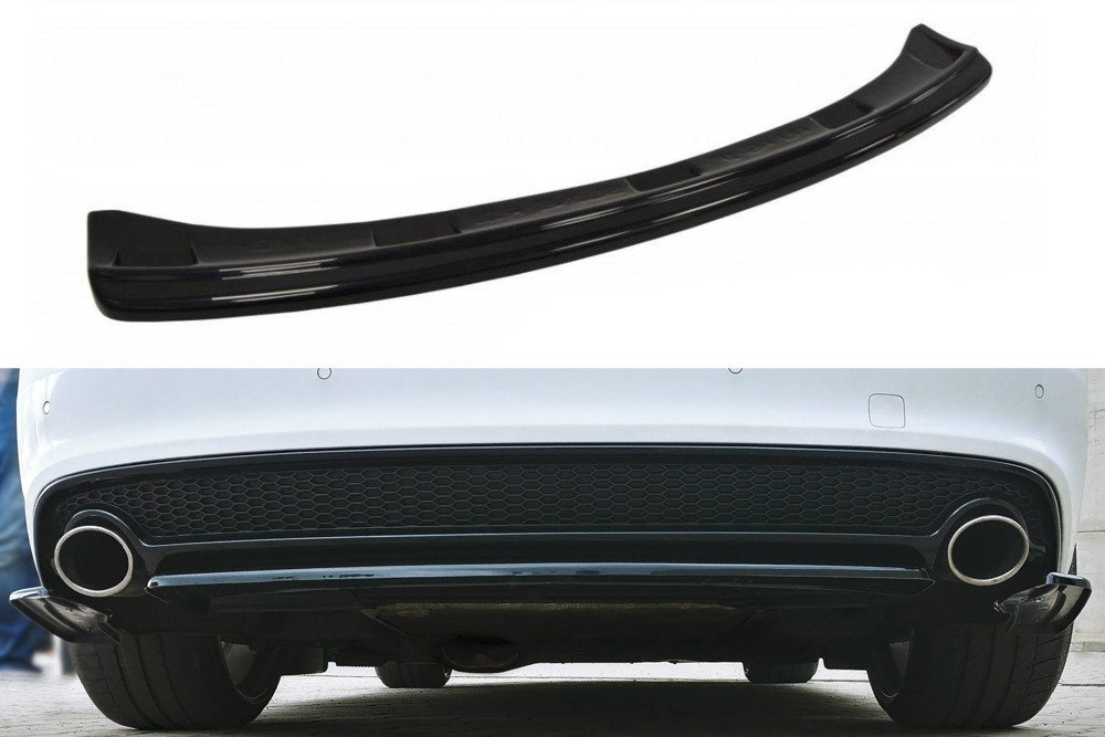 Central Rear Splitter Audi A5 S-Line 8T FL Coupe / Sportback (without vertical bars)