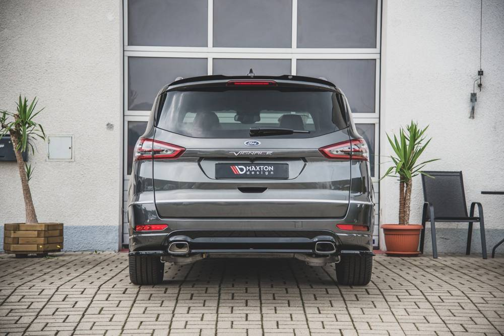 Central Rear Splitter Ford S-Max Vignale Mk2 Facelift