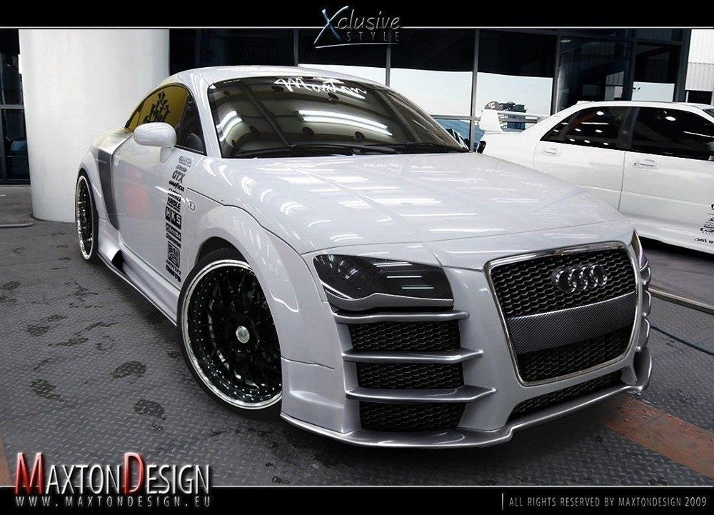 Eyebrows Audi TT 8N < R8 Look > Fit For R8 Look Bumper
