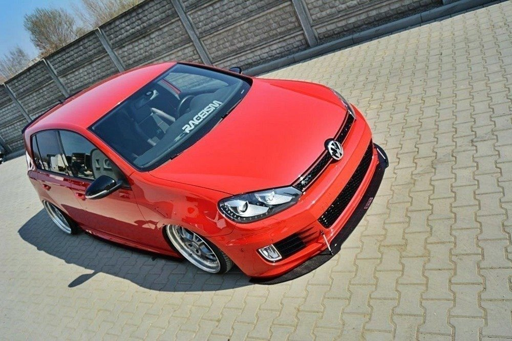 FRONT RACING SPLITTER VW GOLF MK6 GTI 35TH