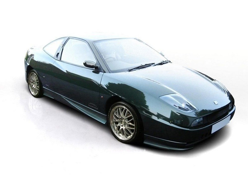 FRONT SIDE BUMPER SPOILERS / LIPS FIAT COUPE