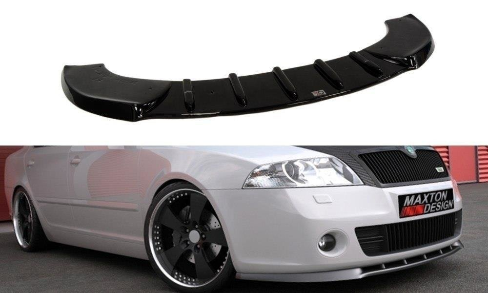 FRONT SPLITTER OCTAVIA 2, FIT ONLY FOR OCTAVIA 2 RS PREFACE MODEL