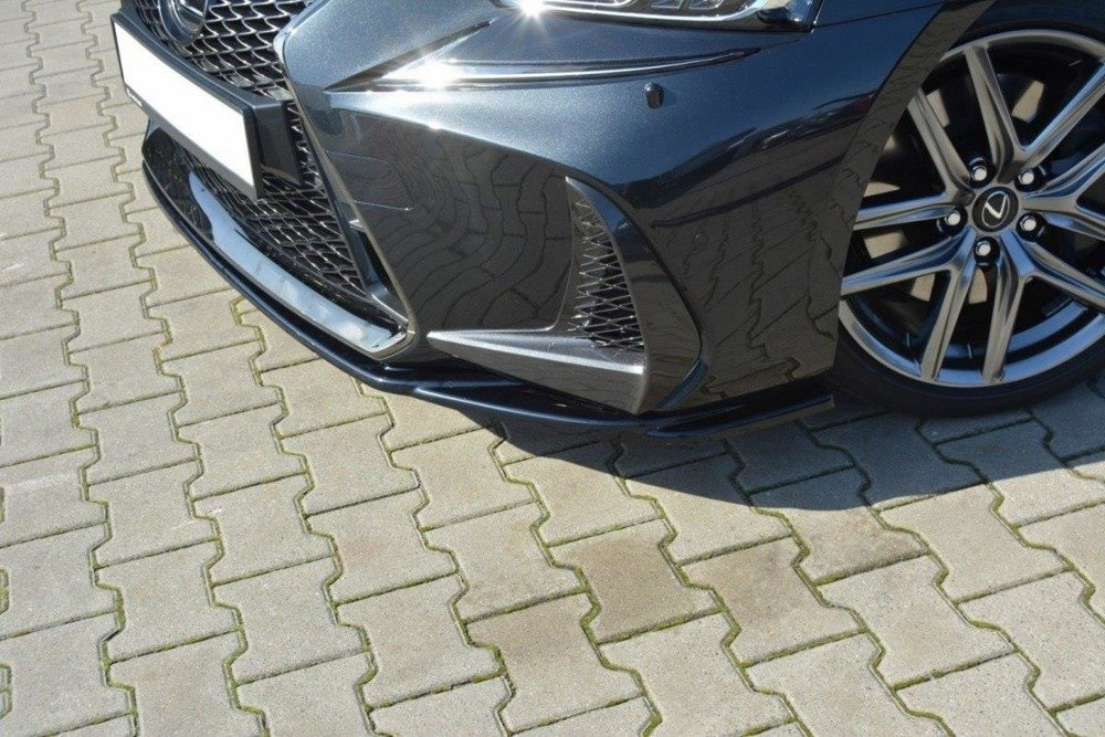 FRONT SPLITTER V.1 Lexus IS Mk3 Facelift F-Sport