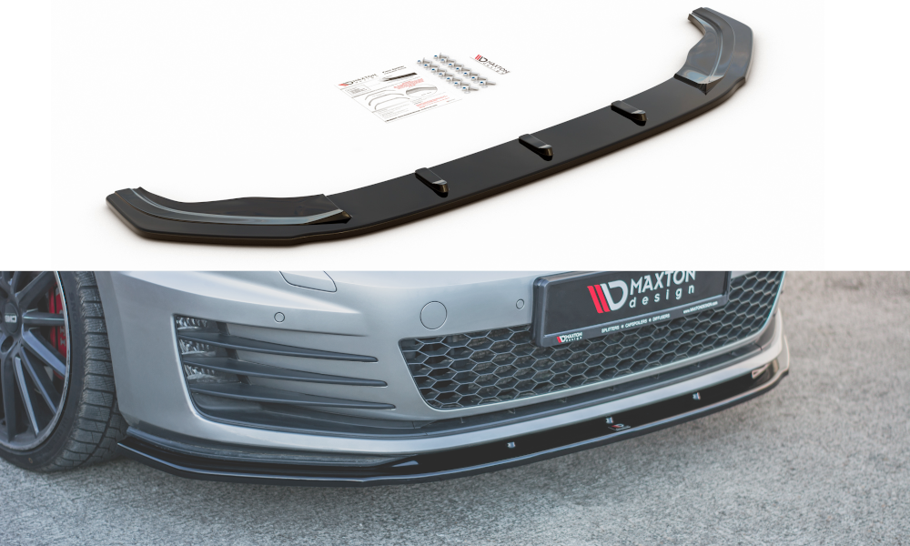 Front Splitter V.1 VW Golf 7 GTI