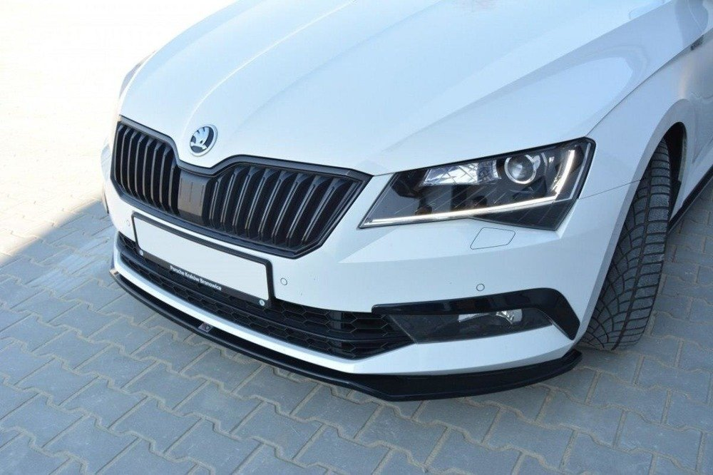 Front Splitter V.2 Skoda Superb Mk3