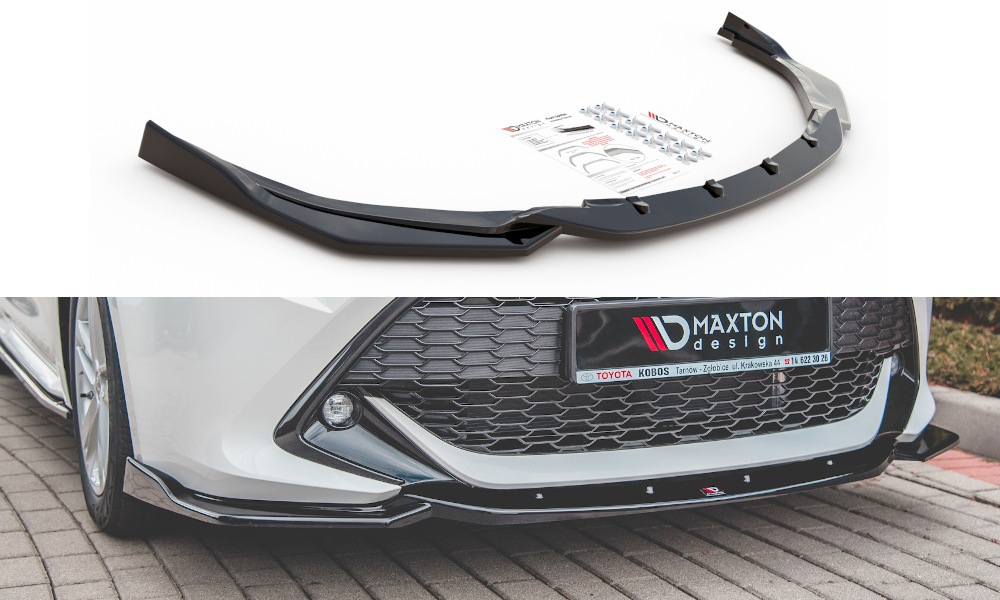 Front Splitter V.2 Toyota Corolla XII Touring Sports/ Hatchback