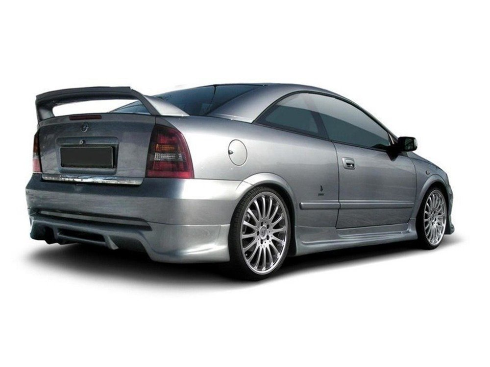 REAR BUMPER EXTENSION OPEL ASTRA G (COUPE & CABRIO)