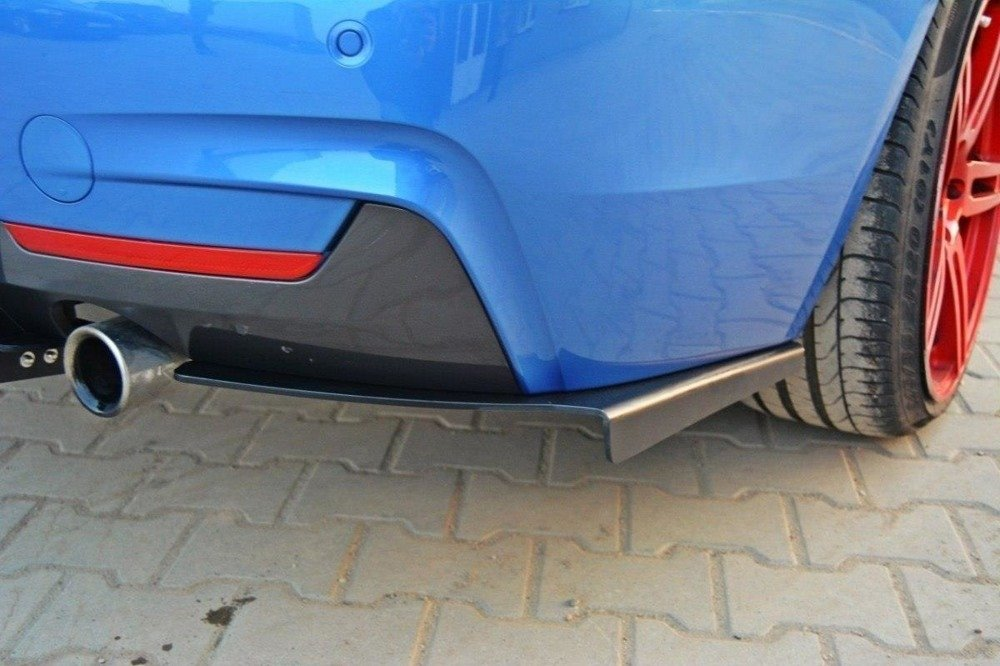 REAR DIFFUSER & REAR SIDE SPLITTERS for BMW 4 F32 M-PACK