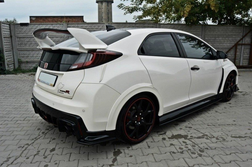REAR SIDE SPLITTERS HONDA CIVIC IX TYPE R