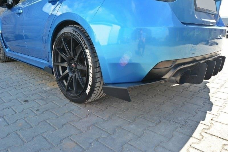 REAR SIDE SPLITTERS Subaru Impreza WRX STI 2009-2011