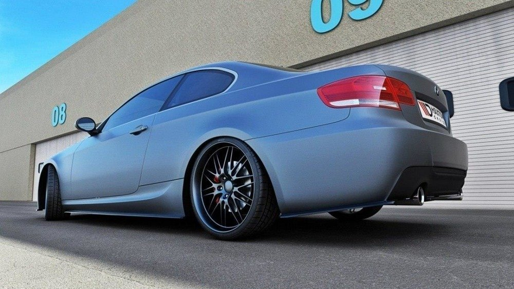 REAR SIDE SPLITTERS for BMW 3 E92 MPACK