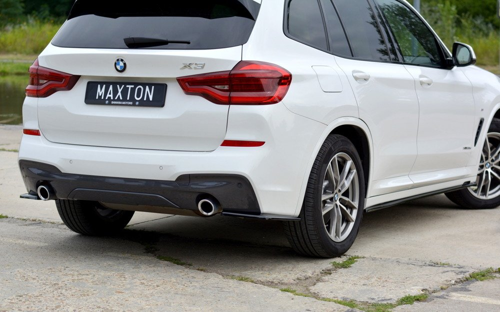 REAR SIDE SPLITTERS for BMW X3 G01 M-PACK