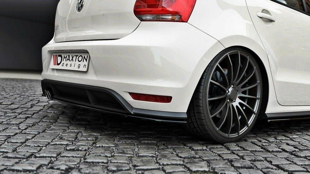 REAR SPLITTER VW POLO MK5 GTI FACELIFT