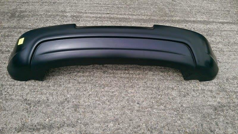 REAR VALANCE VW GOLF V GTI EDITION 30 (without exhaust hole, for standard exhaust)