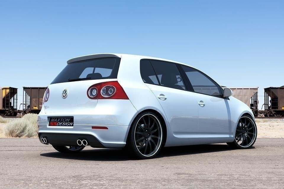 REAR VALANCE VW GOLF V R32 (with 2 exhaust holes)
