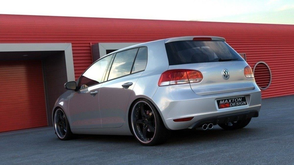 REAR VALANCE VW GOLF VI WITH 1 EXHAUST HOLE