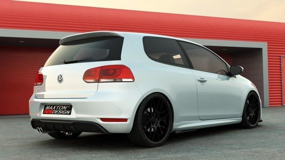 REAR VALANCE VW Golf VI GTI - 1 EXHAUST