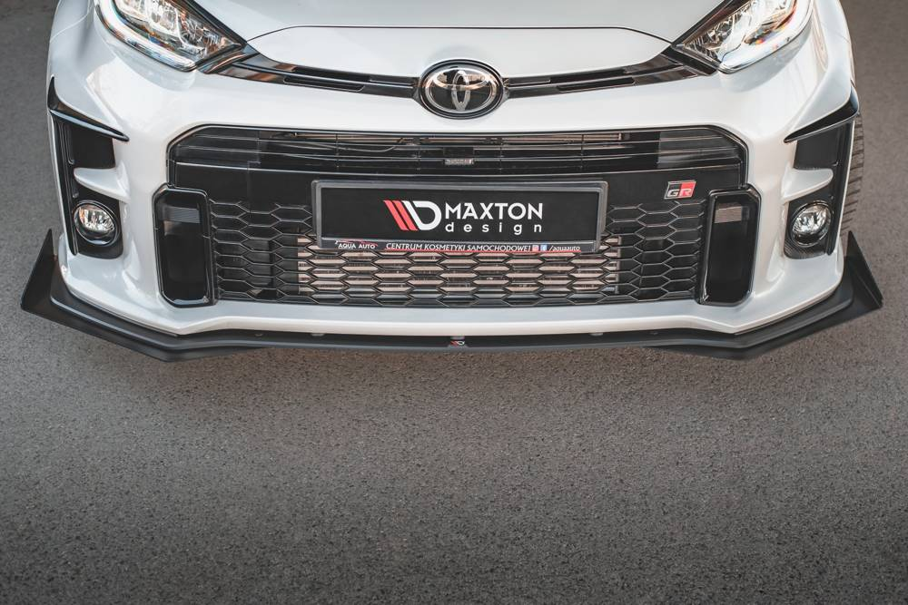 Racing Durability Front Splitter + Flaps Toyota GR Yaris Mk4
