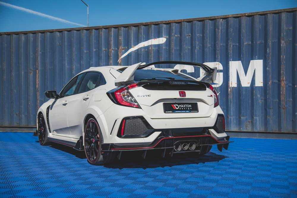 Racing Durability Rear Valance Honda Civic X Type R